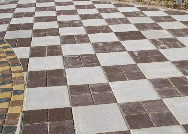 тротуарная плитка квадрат