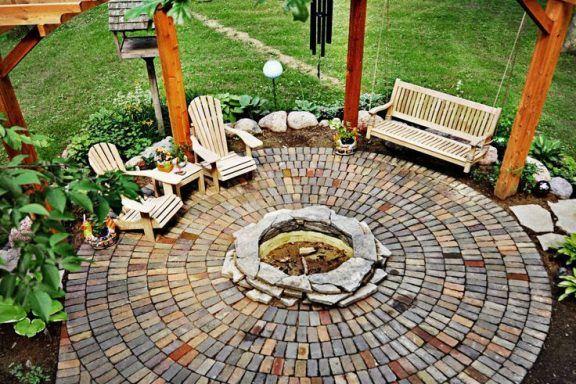 Тротуарная плитка как элемент ландшафтного дизайна.