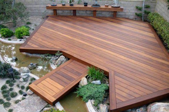 Деревянный настил в вашем дворе