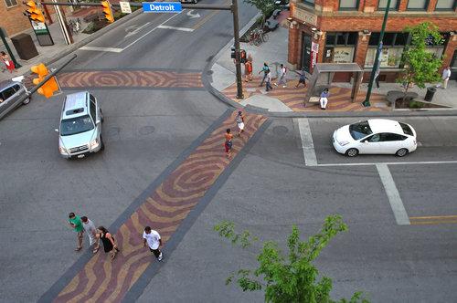 Тротуарная плитка для кафе, магазина