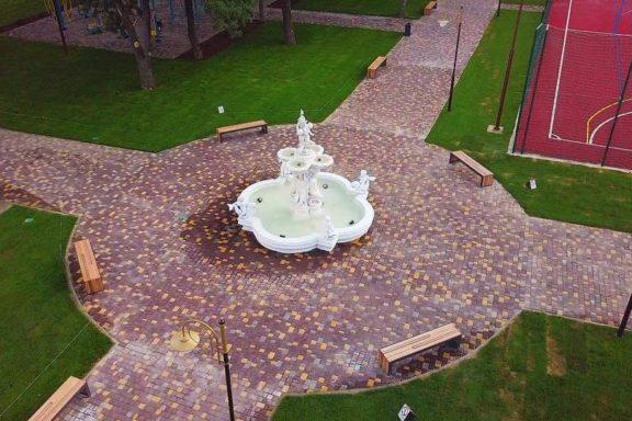 Відновлено міський парк в м Берислав.