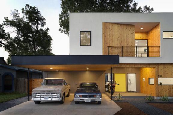 Два автомобиля в семье — как распланировать свой двор.