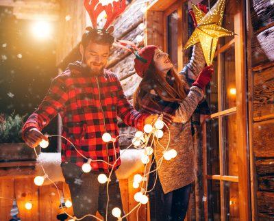 Створіть новорічний настрій в своєму дворі