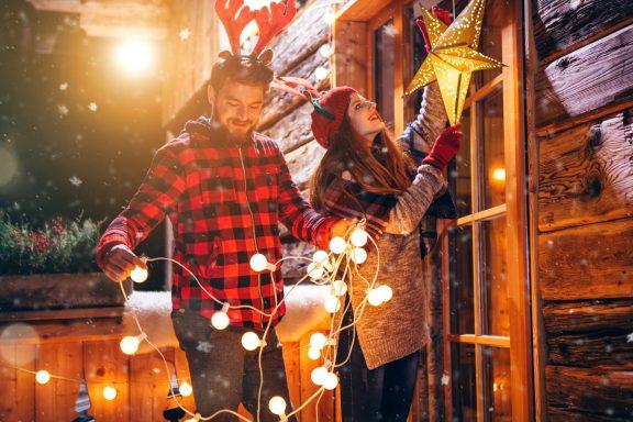 Создайте новогоднее настроение в своем дворе
